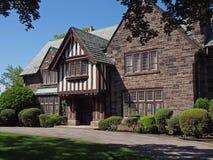 Tudor stilhus Arkivbild