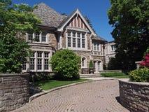 Tudor stilhus Fotografering för Bildbyråer