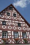 Tudor stilhus - ursnygg egenskap i hjärtan av Tyskland arkivfoton