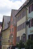 Tudor stilhus - ursnygg egenskap i hjärtan av Tyskland arkivbilder