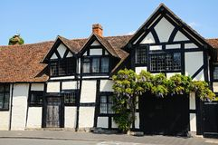 Tudor style cottage, Stratford-upon-Avon. Royalty Free Stock Images