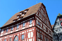 Tudor style house. / Architectural details Royalty Free Stock Images
