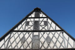 Tudor style house. / Architectural details Stock Images