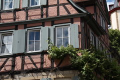 Tudor style house Stock Photos