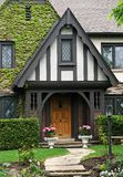 Tudor style house Royalty Free Stock Photos