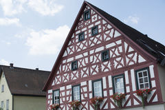 Tudor style house - gorgeous property in the heart of Germany Stock Photography