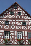 Tudor style house - gorgeous property in the heart of Germany Royalty Free Stock Photography