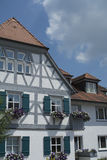 Tudor style house - gorgeous property in the heart of Germany Stock Photos
