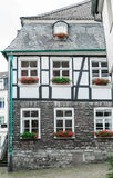 Tudor style house. In the old town in Germany Royalty Free Stock Image
