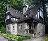 Tudor-style house Stock Photos