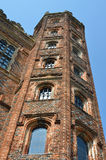 Tudor Tower at angle Stock Photos