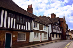 Tudor village Stock Photo