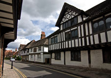 Tudor village Royalty Free Stock Photo