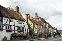 Tudor village Royalty Free Stock Image