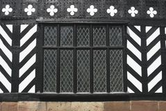 Tudor Window Royalty Free Stock Photos