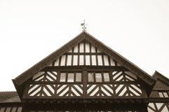 Tudor Windows abstrait photographie stock