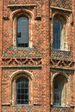 Tudor Windows Stock Photo