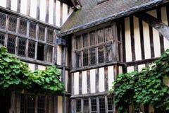Tudor windows Royalty Free Stock Photos