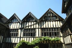 Tudor windows in the grounds of Hever Castle, England, UK Stock Photography