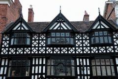 Tudorgebouwen Stock Foto's