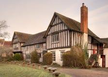Tudorhuis, Engeland Stock Foto