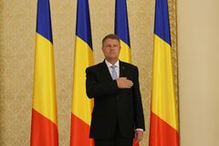 Tudose Government - Swearing-in ceremony - Romanian politics Stock Photos