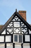 Tudur building detail, Lichfield, England. Stock Images