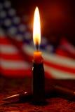 Tue la tragédie aux Etats-Unis Photographie stock libre de droits