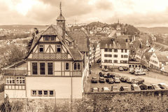 Tuebingen Old Town Royalty Free Stock Photos