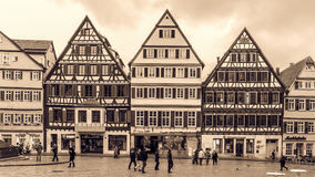Tuebingen Old Town Royalty Free Stock Photography