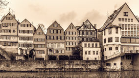 Tuebingen Old Town Royalty Free Stock Images