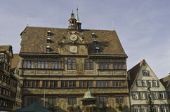 Tuebingen Town Hall Royalty Free Stock Image