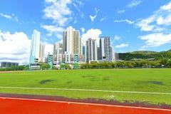 Tuen Mun district, Hong Kong. Royalty Free Stock Photography