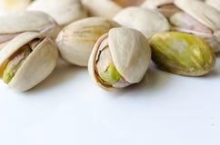 Tuercas de pistacho Foto de archivo libre de regalías
