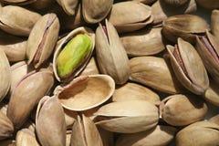 Tuercas de pistacho turcas Fotos de archivo libres de regalías
