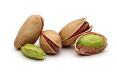 Tuercas de pistachos Imagenes de archivo