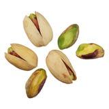 Tuercas de pistachos Foto de archivo libre de regalías