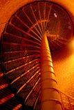 Tuerce en espiral la escalera Imagenes de archivo