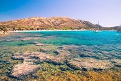 Tuerredda, one of the most beautiful beaches in Sardinia. Stock Photos