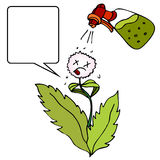 Tueur de Weed illustration libre de droits