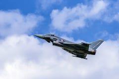 Tufão de Eurofighter dos aviões Imagem de Stock