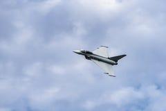 Tufão de Eurofighter dos aviões Foto de Stock