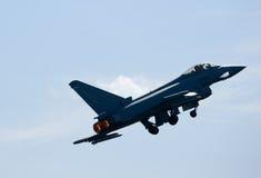 Tufão F2 de Eurofighter foto de stock