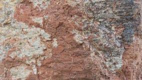 Tuf en pierre rouge de Filipowice de fond de texture Images libres de droits