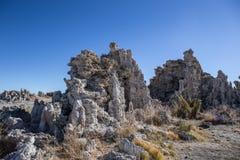 tufa озера mono Стоковые Фото