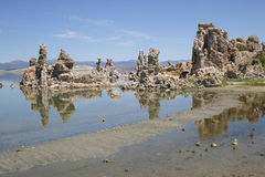 Tufa columns at Mono Lake Royalty Free Stock Photos