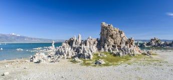 Tufa Formation in Mono Lake, California Stock Images