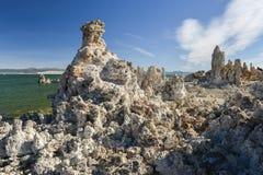 Tufa Formation in Mono Lake, California Stock Photos