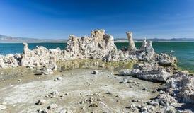 Tufa Formation in Mono Lake, California Royalty Free Stock Images