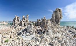 Tufa Formation in Mono Lake, California Stock Photo